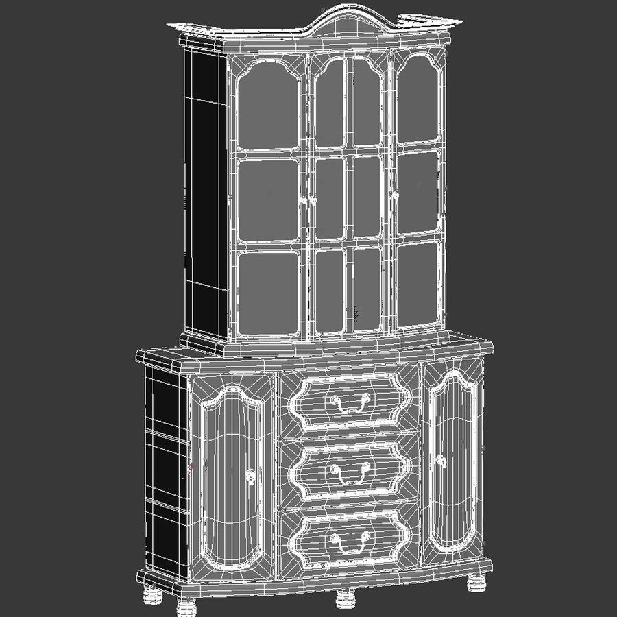 Muebles de armario royalty-free modelo 3d - Preview no. 12