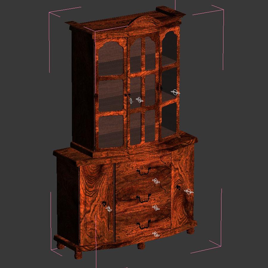Muebles de armario royalty-free modelo 3d - Preview no. 10