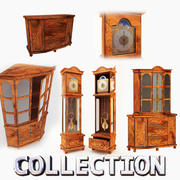 旧家具收藏 3d model