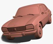 Peugeot 504 1970 modelo 3d