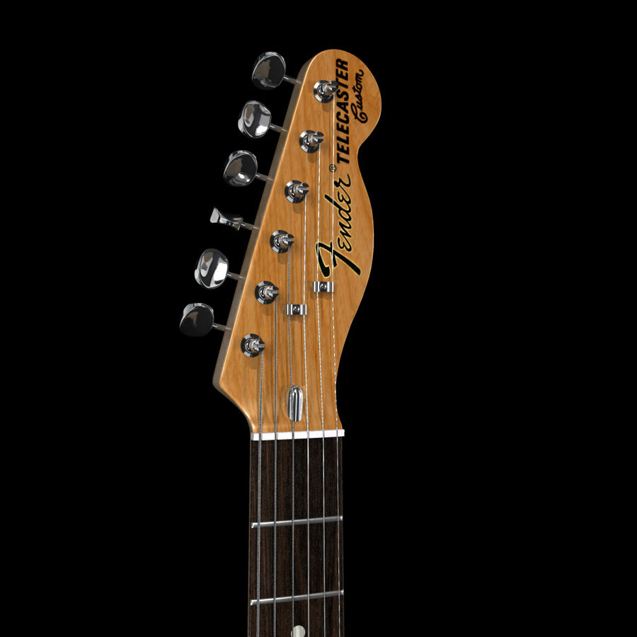 Telecaster Collection royalty-free 3d model - Preview no. 21