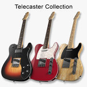 Telecaster Collection 3d model