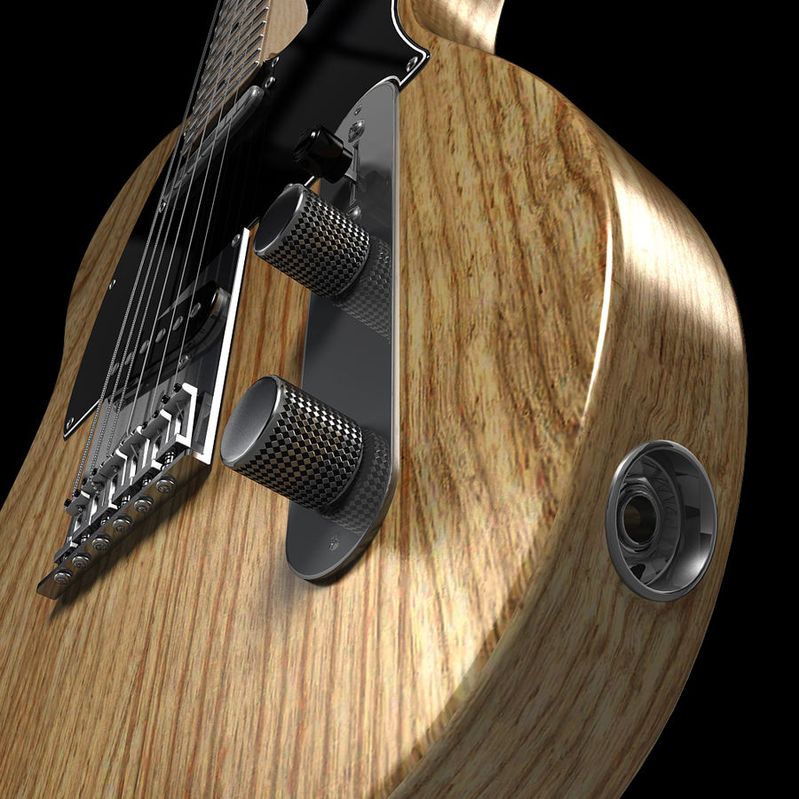 Telecaster Collection royalty-free 3d model - Preview no. 30