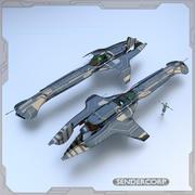 Cruiser 3d model