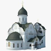 Igreja Russa 3d model