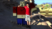 Minecraft-personage 3d model