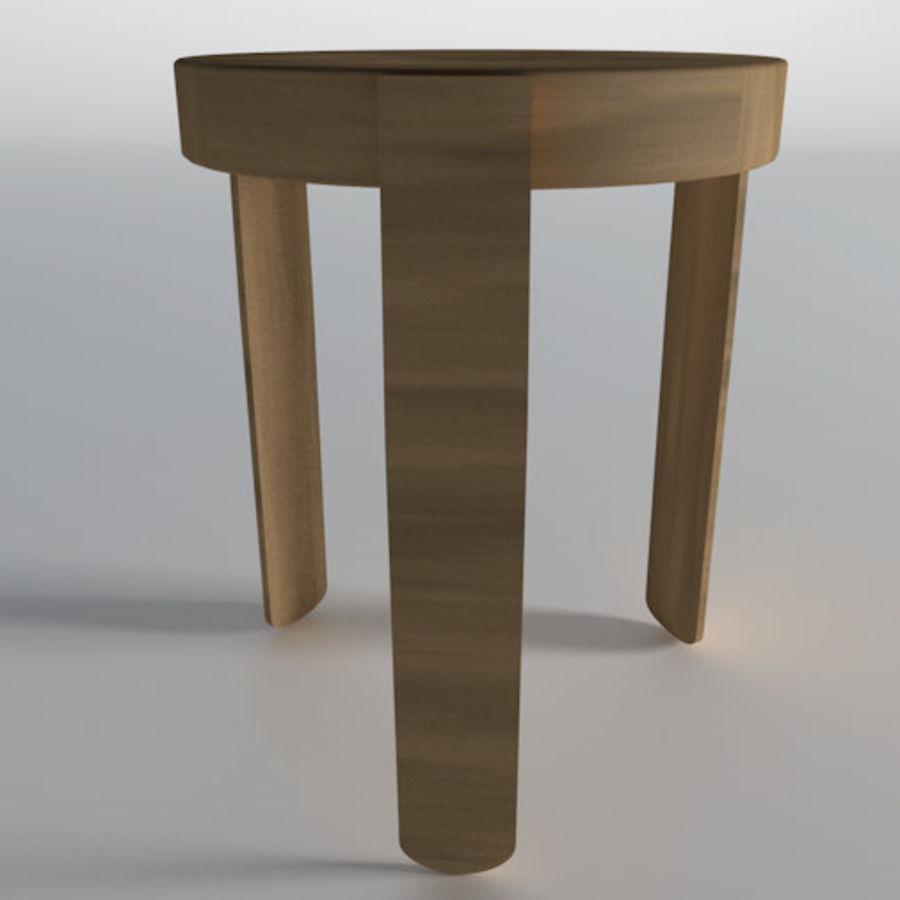 posto a sedere royalty-free 3d model - Preview no. 3