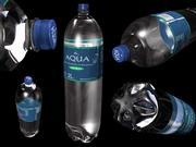 Flasche Wasser 3d model