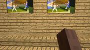 Minecraft First Person Camera met GUI 3d model