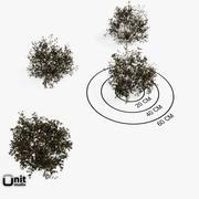 Arbustos - Conjunto 05 3d model