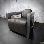 swivel chair 3d model