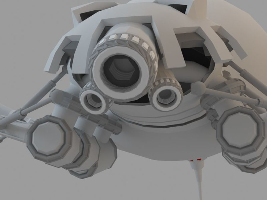 Spider royalty-free 3d model - Preview no. 5