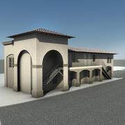 灰泥大厦 3d model