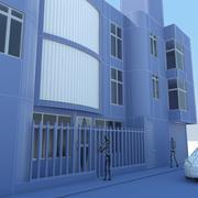 Casa e comércio Max 2011 3d model