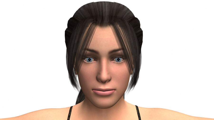 София сексуальная женщина royalty-free 3d model - Preview no. 3