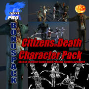 Citizens of Death Character Pack 3d model