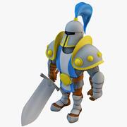 게임 나이트 리깅 3d model