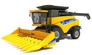 New Holland Combine Harvester 3d model