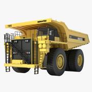 Komatsu Mining Truck 3d model