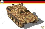 Panther Pz V 3d model