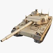 AMX-40法国主战坦克2 3d model