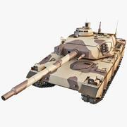 AMX-40法国主战坦克 3d model