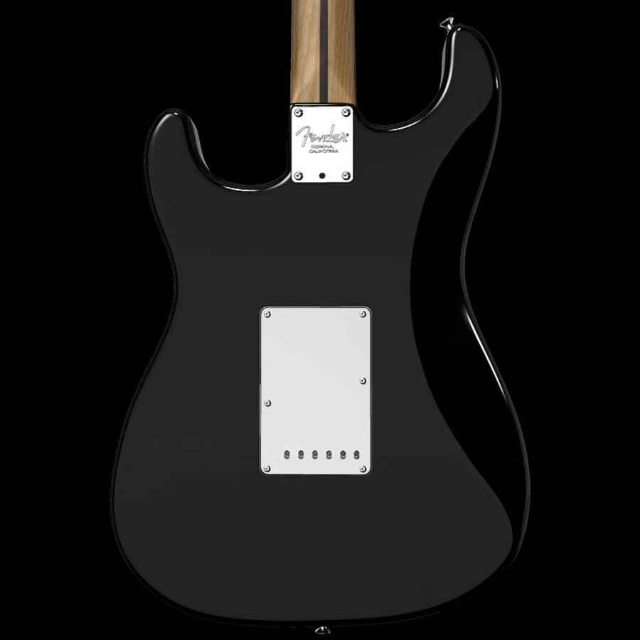 Fender Guitars Collection royalty-free 3d model - Preview no. 39