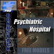 Adams Psychiatrische Klinik - Ebene 3d model