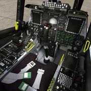 A-10 Cockpit 3d model