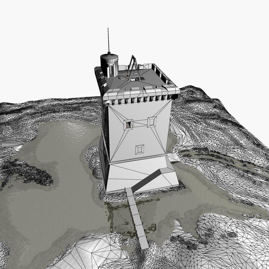 Średniowieczna wieża XV wieku royalty-free 3d model - Preview no. 29