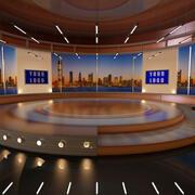 Studio virtuale 3d model