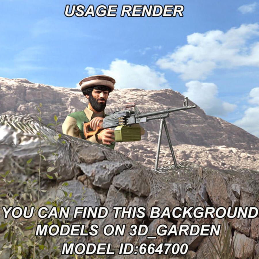 반란군 컬렉션 royalty-free 3d model - Preview no. 20