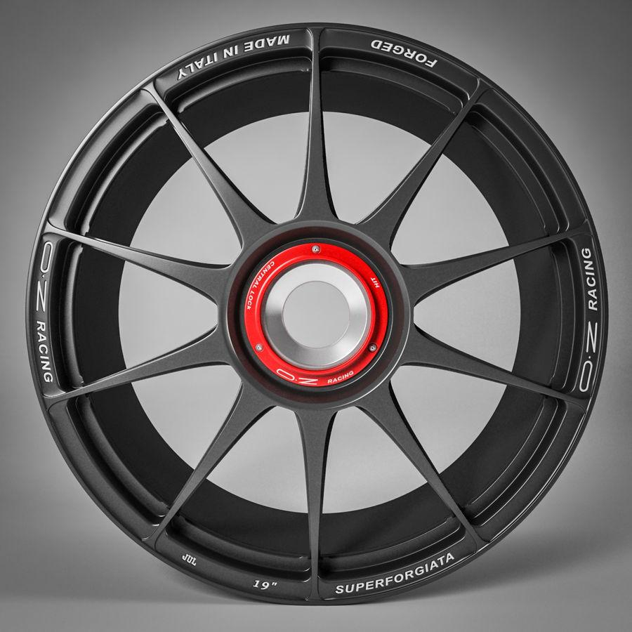 Rim OZ Racing Superforgiata CL royalty-free 3d model - Preview no. 5