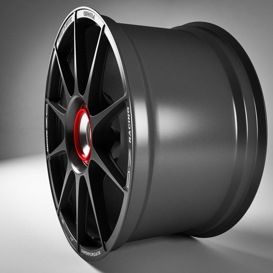 Rim OZ Racing Superforgiata CL royalty-free 3d model - Preview no. 4