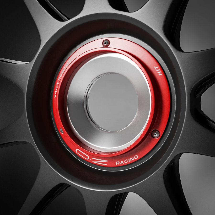 Rim OZ Racing Superforgiata CL royalty-free 3d model - Preview no. 2