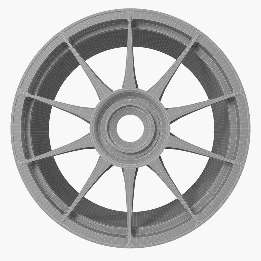 Rim OZ Racing Superforgiata CL royalty-free 3d model - Preview no. 8