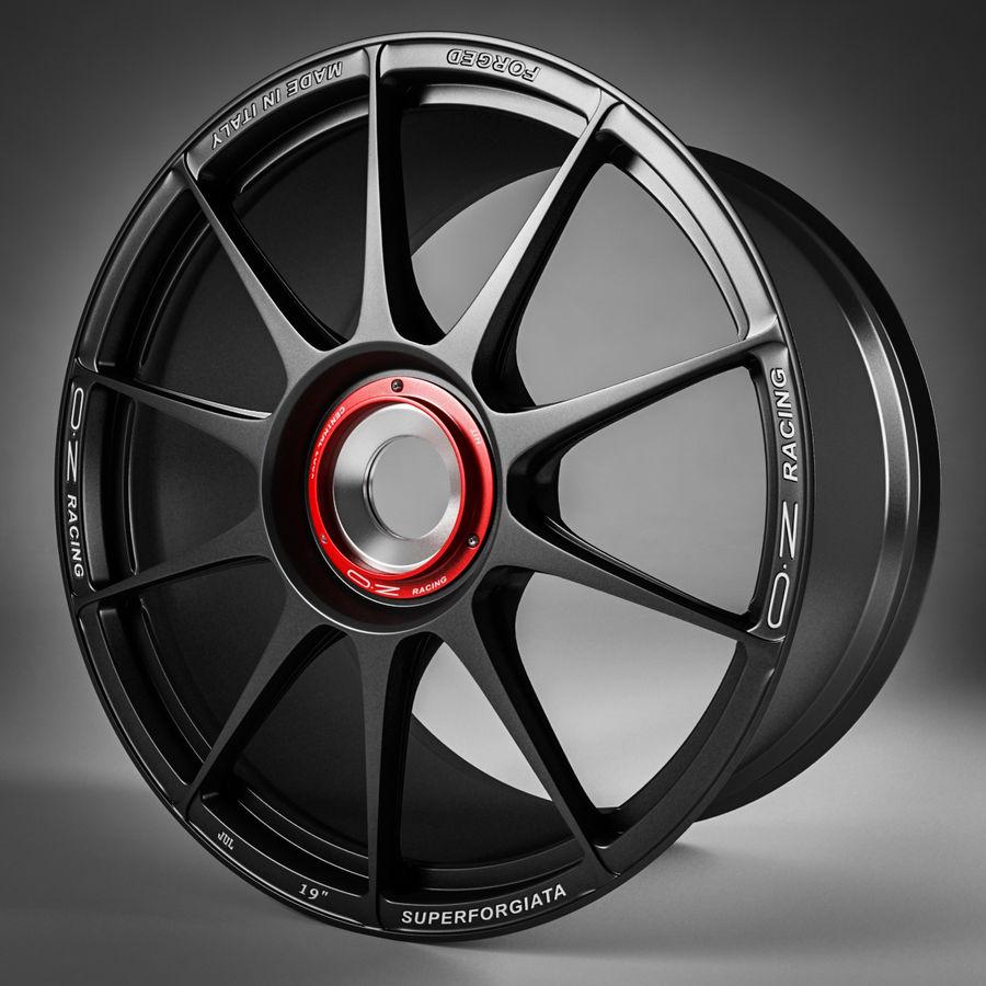 Rim OZ Racing Superforgiata CL royalty-free 3d model - Preview no. 1