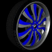 Forgiato Wheel Pack V1 3d model