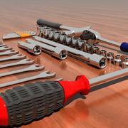 37 Piece Tool Set 3d model