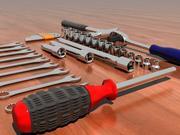 37件套工具 3d model