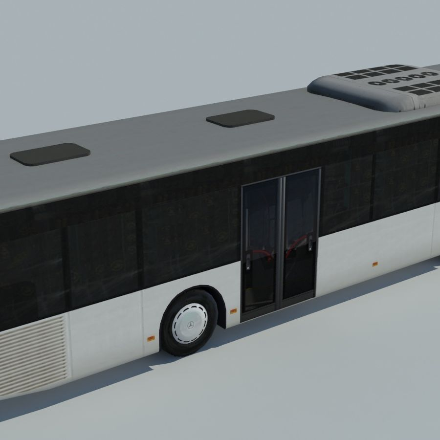 Mercedes-Benz Citaro C 2005 royalty-free 3d model - Preview no. 4