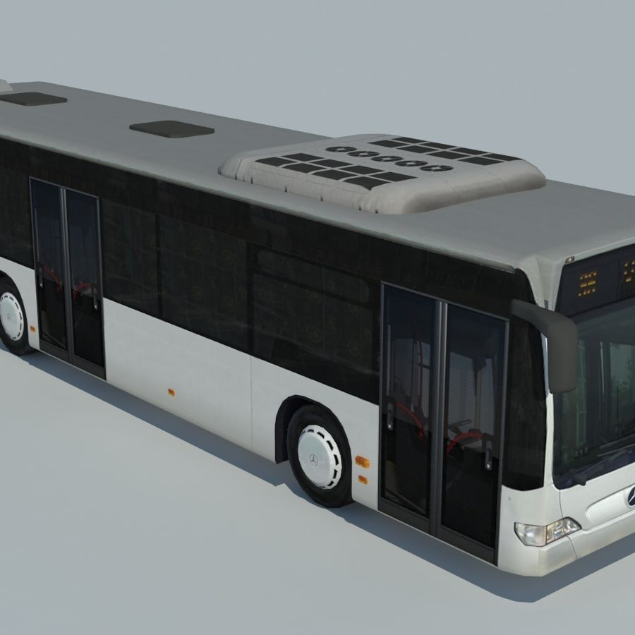 Mercedes-Benz Citaro C 2005 royalty-free 3d model - Preview no. 1