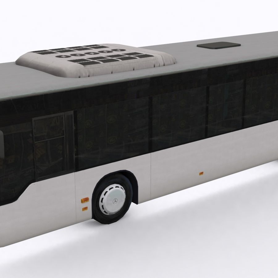Mercedes-Benz Citaro C 2005 royalty-free 3d model - Preview no. 2