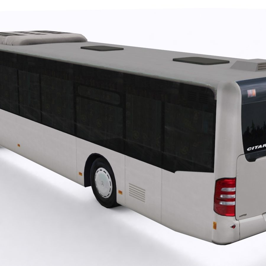 Mercedes-Benz Citaro C 2005 royalty-free 3d model - Preview no. 3