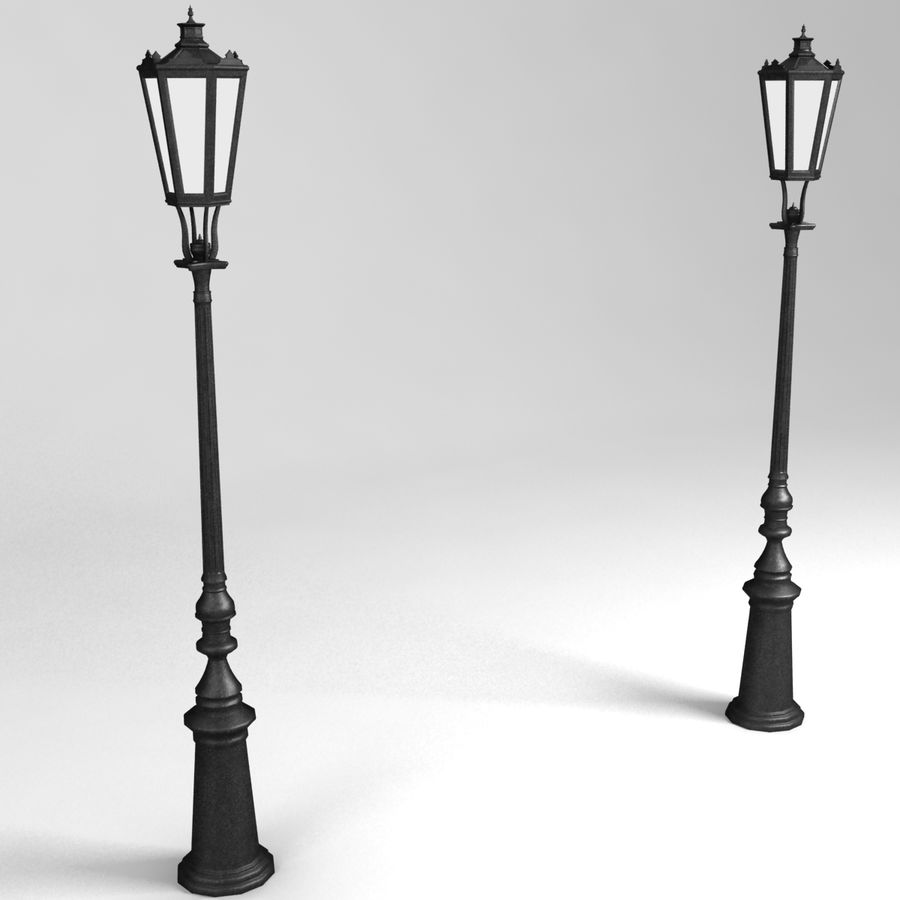 street lamp royalty-free 3d model - Preview no. 1
