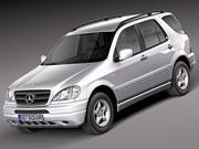 Mercedes M sınıfı W163 1997-2005 3d model