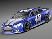 Chevrolet SS NASCAR 2013 3d model
