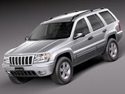 Jeep Grand Cherokee 1999-2005 3d model