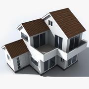 Küçük Japonya Evi 3d model