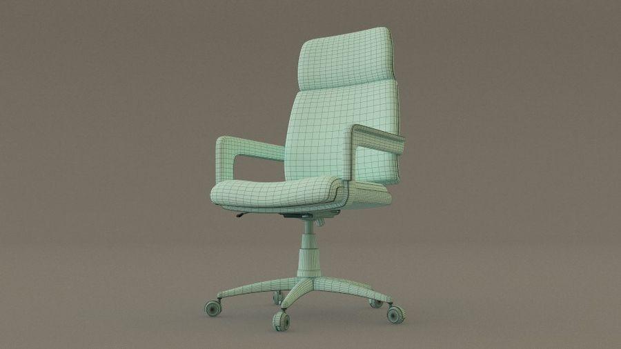 Krzesło biurowe royalty-free 3d model - Preview no. 5